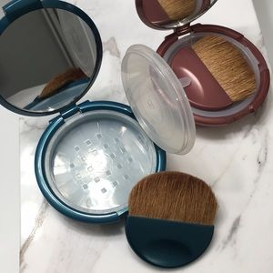 BareMinerals Foundation (sample size) & 2 compacts